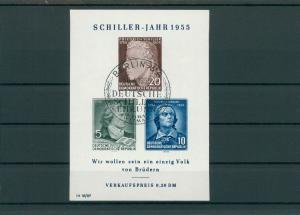 DDR 1955 Bl.12 gestempelt (202739)