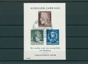 DDR 1955 Bl.12 gestempelt (202741)