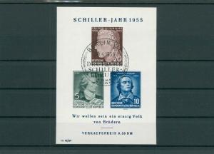 DDR 1955 Bl.12 gestempelt (202743)