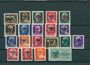 BES. II. WK. LAIBACH 1944 Nr 1-20 postfrisch (202745)