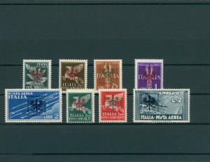 BES. II. WK. LAIBACH 1944 Nr 21-28 postfrisch (202746)