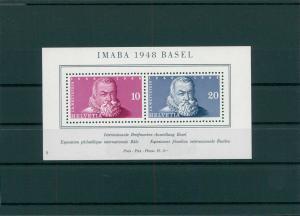SCHWEIZ 1948 Bl.13 postfrisch (202753)
