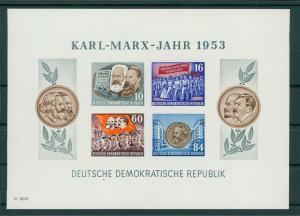 DDR 1953 Bl.9B postfrisch (202757)