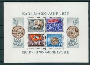 DDR 1953 Bl.9A postfrisch (202758)