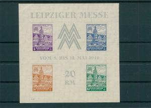 SBZ 1945 Bl.5X postfrisch (202775)