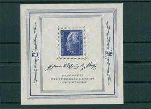 SBZ 1949 Bl.6 postfrisch (202777)