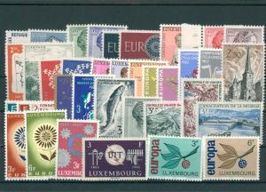 LUXEMBURG Lot postfrisch (202797)