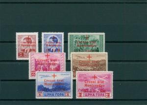 BES. II. WK. MONTENEGRO 1944 Nr 29-35 postfrisch (202806)