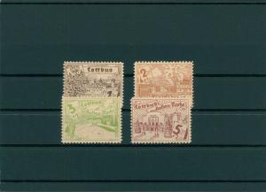 COTTBUS 1945 Nr 21-24 postfrisch (400054)