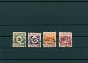 GOERLITZ 1945 Nr 1-4 gestempelt (400057)