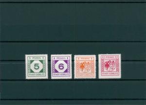 GOERLITZ 1945 Nr 9-12 postfrisch (400059)