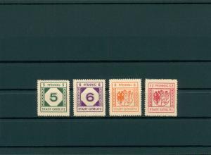 GOERLITZ 1945 Nr 13-16 postfrisch (400060)