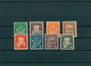 LUEBBENAU 1945 Nr 1-8 postfrisch (400065)