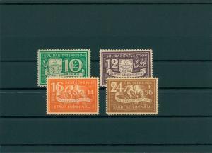 LUEBBENAU 1945 Nr 9-12A postfrisch (400066)