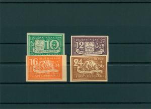 LUEBBENAU 1945 Nr 9-12B postfrisch (400067)