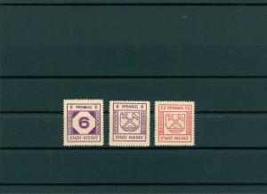 NIESKY 1945 Nr 8-10 postfrisch (400070)