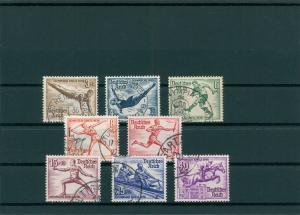 DEUTSCHES REICH 1936 Nr 609-616 gestempelt (400081)