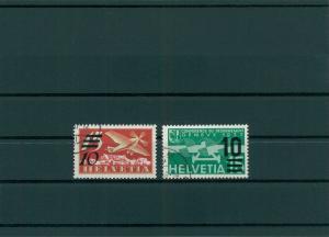 SCHWEIZ 1935 Nr 285-286 gestempelt (400120)