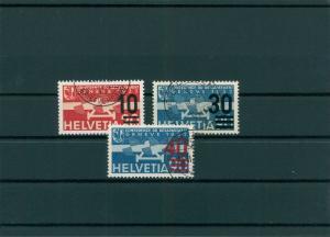 SCHWEIZ 1936 Nr 291-293 gestempelt (400121)