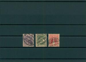 SCHWEIZ 1917 Nr 133-135 gestempelt (400123)