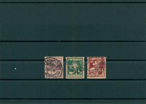 SCHWEIZ 1916 Nr 130-132 gestempelt (400124)