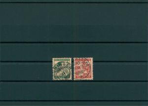 SCHWEIZ 1915 Nr 128-129 gestempelt (400125)