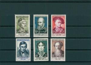 FRANKREICH 1957 Nr 1136-1141 postfrisch (400131)