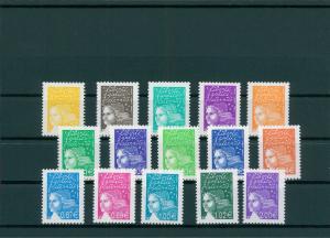 FRANKREICH 2002 Nr 3579-3593 postfrisch (400134)