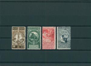 ITALIEN 1911 Nr 100-103 gestempelt (400167)