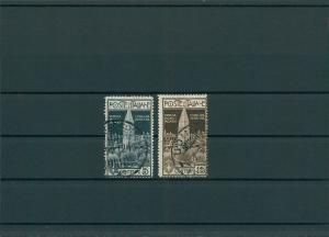 ITALIEN 1912 Nr 105-106 gestempelt (400168)