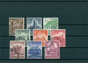 DEUTSCHES REICH 1940 Nr 751-759 gestempelt (400337)