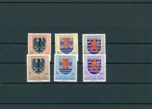 LUXEMBURG 1956 Nr 561-566 postfrisch (400399)