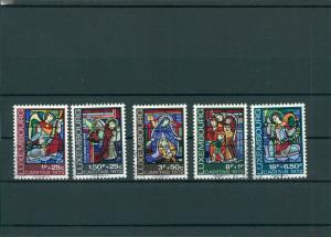 LUXEMBURG 1972 Nr 853-857 gestempelt (400402)