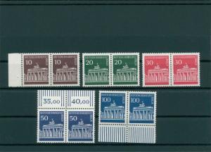 BERLIN 1966 Nr 286-290 postfrisch (400422)