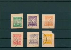 FALKENSEE 1945 Nr 1-6 gestempelt (400447)