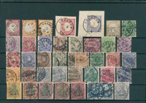 DEUTSCHES REICH Slg. 1872-1945 gestempelt (203838)