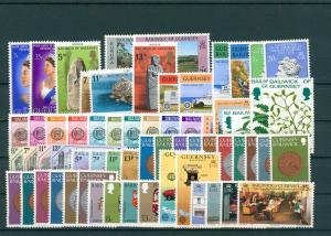 GUERNSEY Slg. aus 1977-1991 postfrisch (203840)