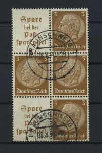DEUTSCHES REICH 1939 ZD Nr S176 gestempelt (117623)