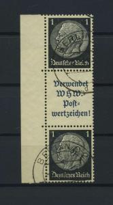 DEUTSCHES REICH 1939 ZD Nr S170 gestempelt (117625)