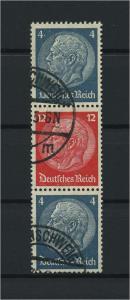 DEUTSCHES REICH 1937 ZD Nr S164 gestempelt (117636)
