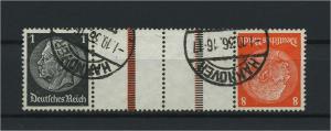 DEUTSCHES REICH 1936 ZD Nr KZ24 gestempelt (117647)