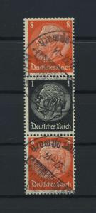 DEUTSCHES REICH 1936 ZD Nr S138 gestempelt (117653)