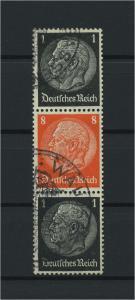 DEUTSCHES REICH 1936 ZD Nr S136 gestempelt (117654)