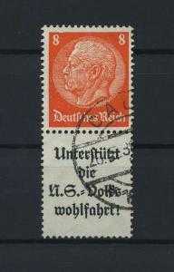 DEUTSCHES REICH 1936 ZD Nr S133 gestempelt (117655)