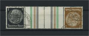 DEUTSCHES REICH 1934 ZD Nr KZ20 gestempelt (117662)