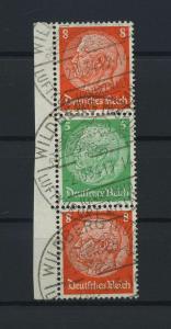 DEUTSCHES REICH 1934 ZD Nr S122 gestempelt (117663)