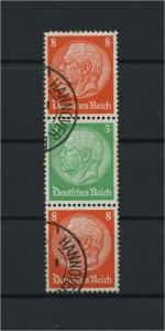 DEUTSCHES REICH 1934 ZD Nr S122 gestempelt (117664)