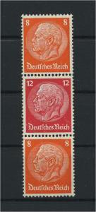 DEUTSCHES REICH 1933 ZD Nr S113 postfrisch (117670)