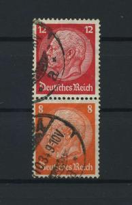 DEUTSCHES REICH 1933 ZD Nr S110 gestempelt (117671)