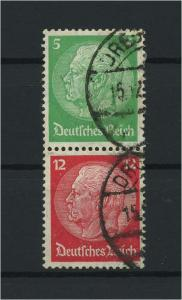 DEUTSCHES REICH 1933 ZD Nr S106 gestempelt (117672)